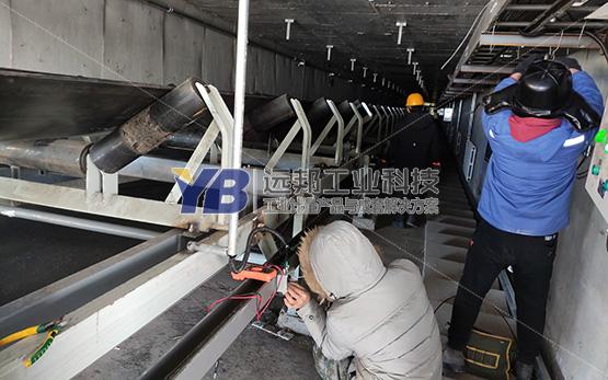 内蒙古呼伦贝尔生物科技企业防爆皮带秤项目