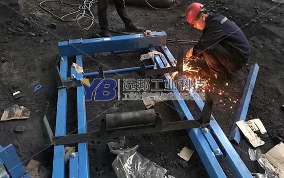 陕西府谷煤矿皮带秤项目